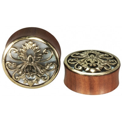 Rider Mother Of Pearl Inlay Plug