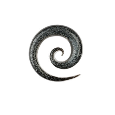 Silver Dichro Glass Super Spiral