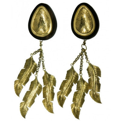 Bronze Feathers Hanging Plug