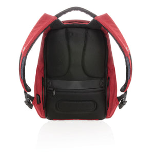 Bobby Backpack Original Mochila Antirrobo Roja