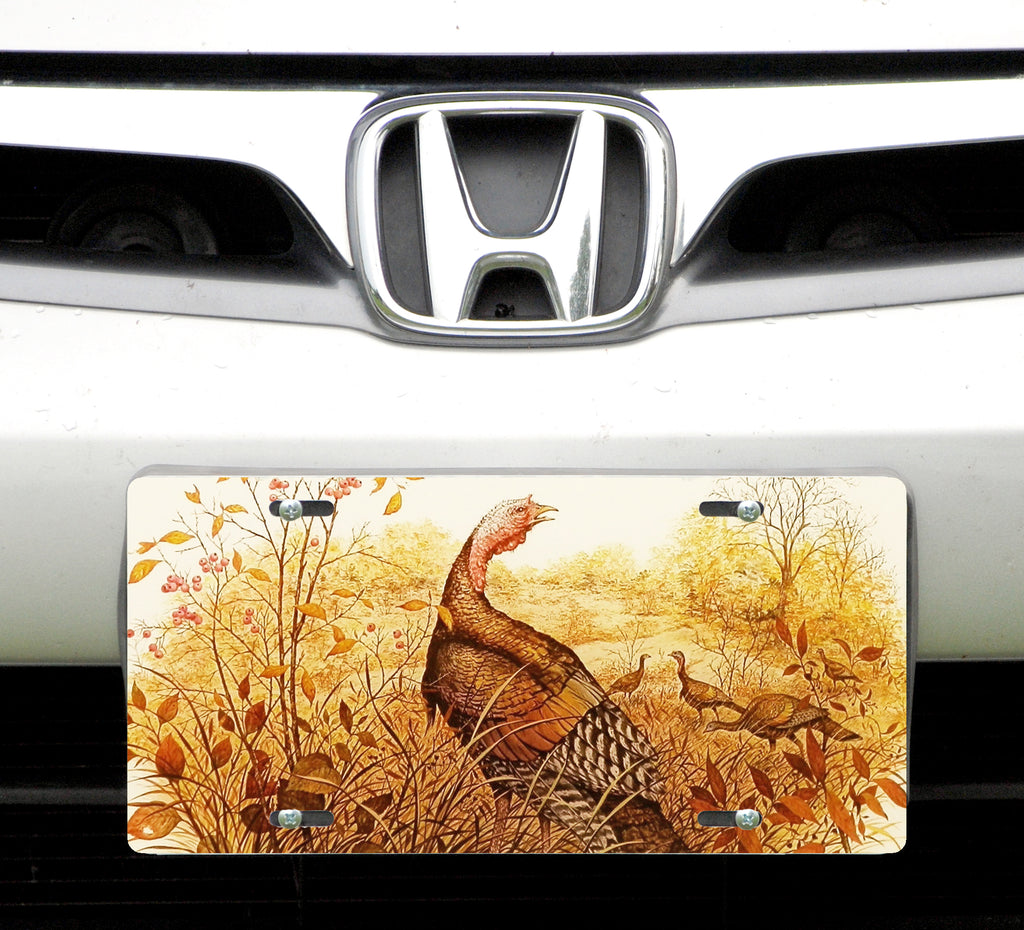 License plate, Wild Turkey