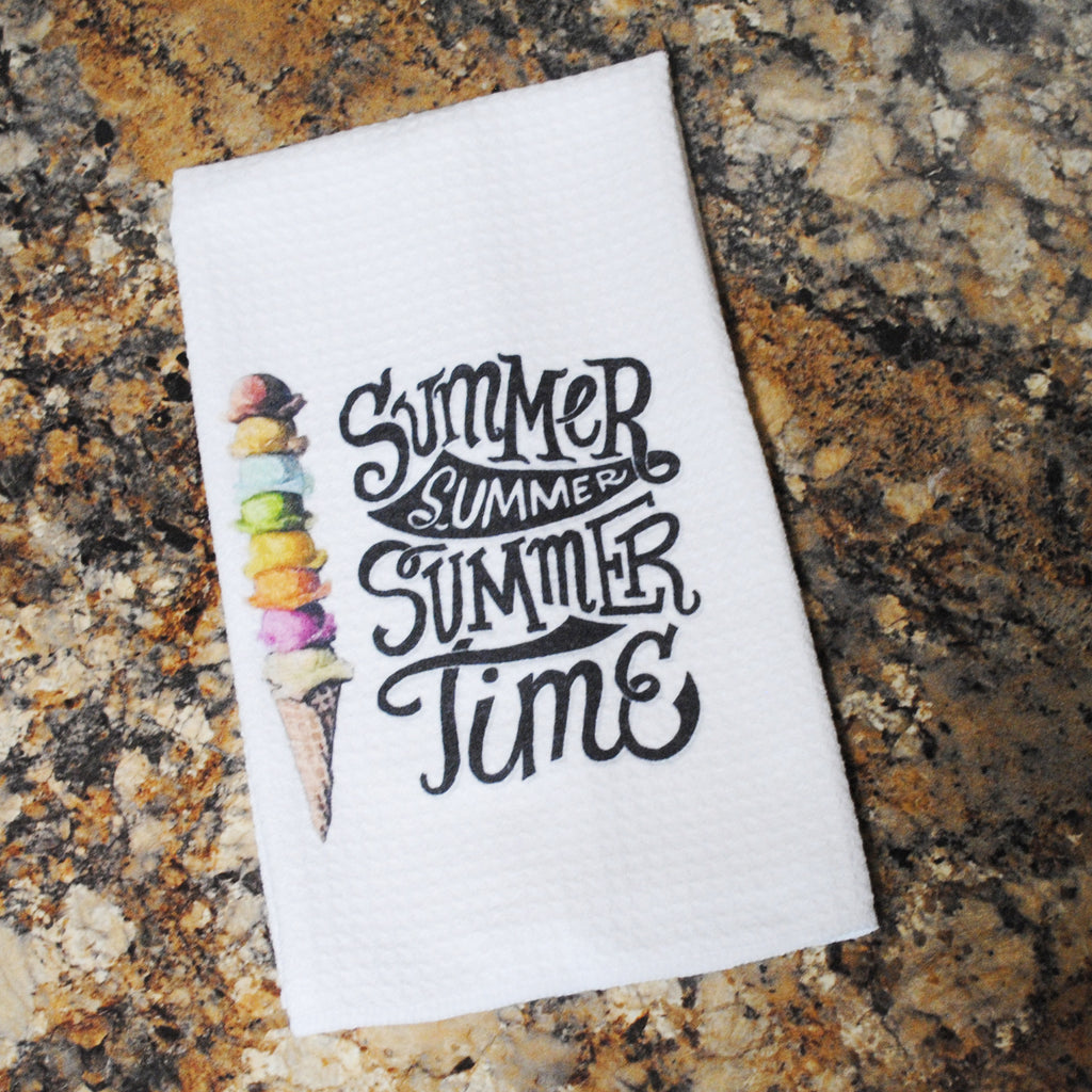 Tea Towel - Summer Time