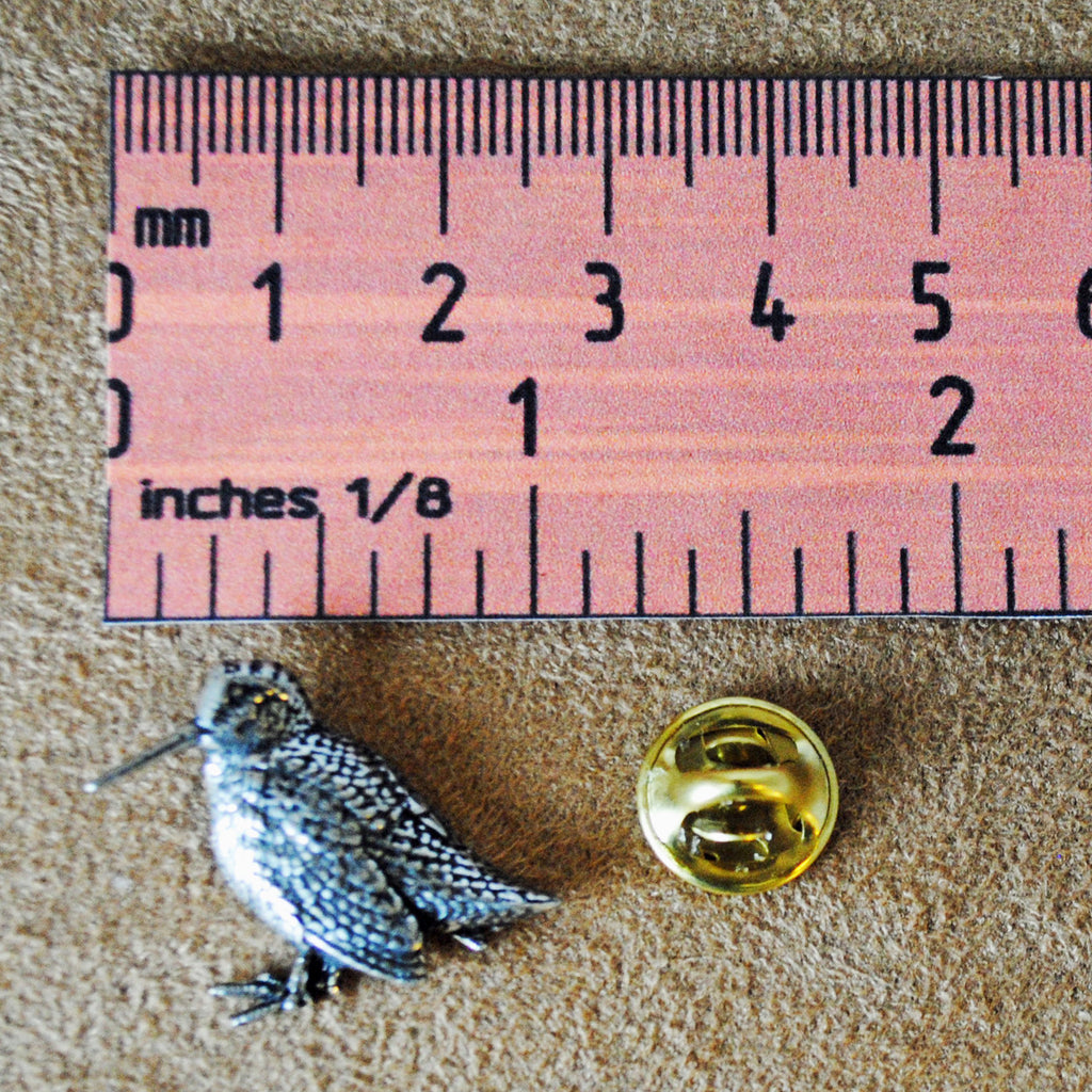 Woodcock Pewter Pin