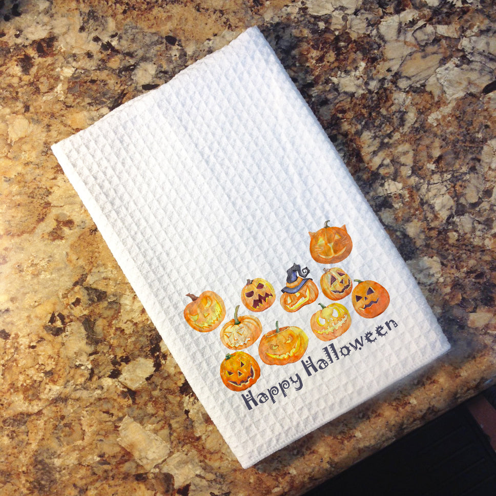 Tea Towel - Happy Halloween