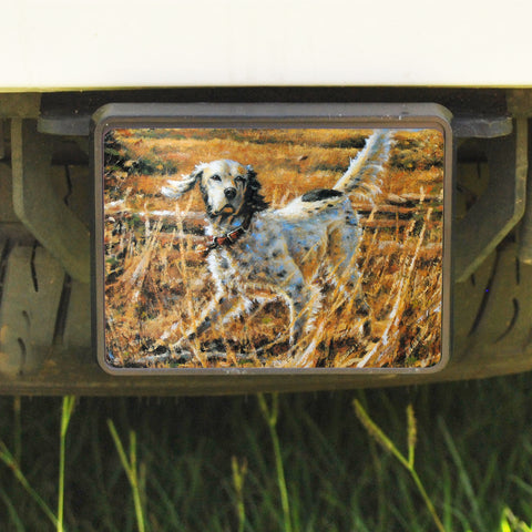 Rectangle Trailer Hitch Cover, Setter