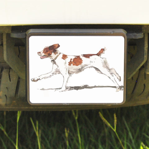 Rectangle Trailer Hitch Cover, Brittany