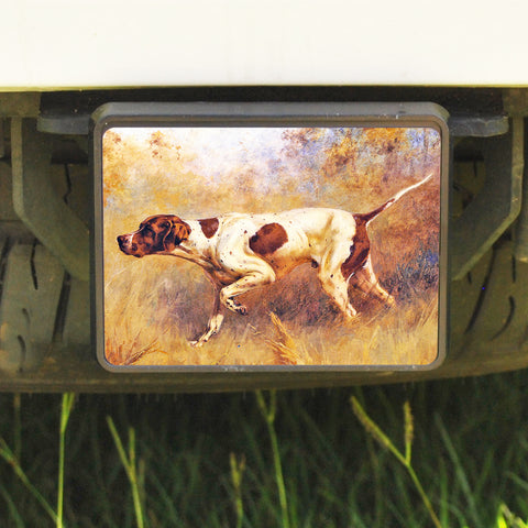 Rectangle Trailer Hitch Cover, Pointer