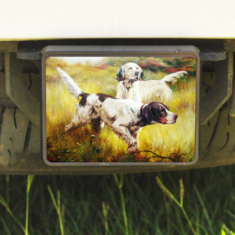 Rectangle Trailer Hitch Cover, Setters