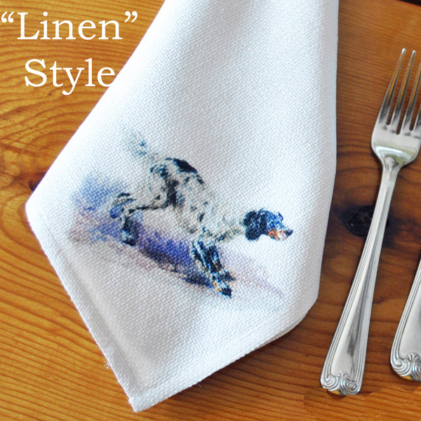 Table Linens, Set of Six - Setter