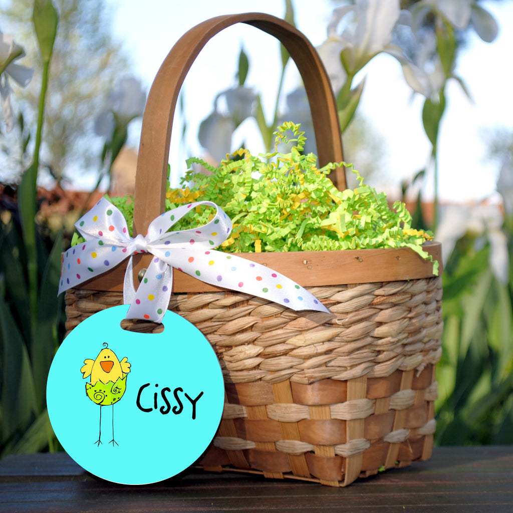 Easter Basket Tag, Chick