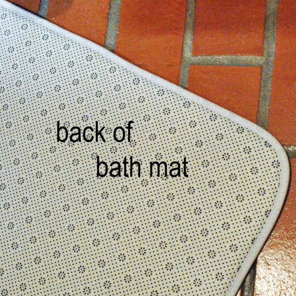 Shower Curtain and Bath Mat