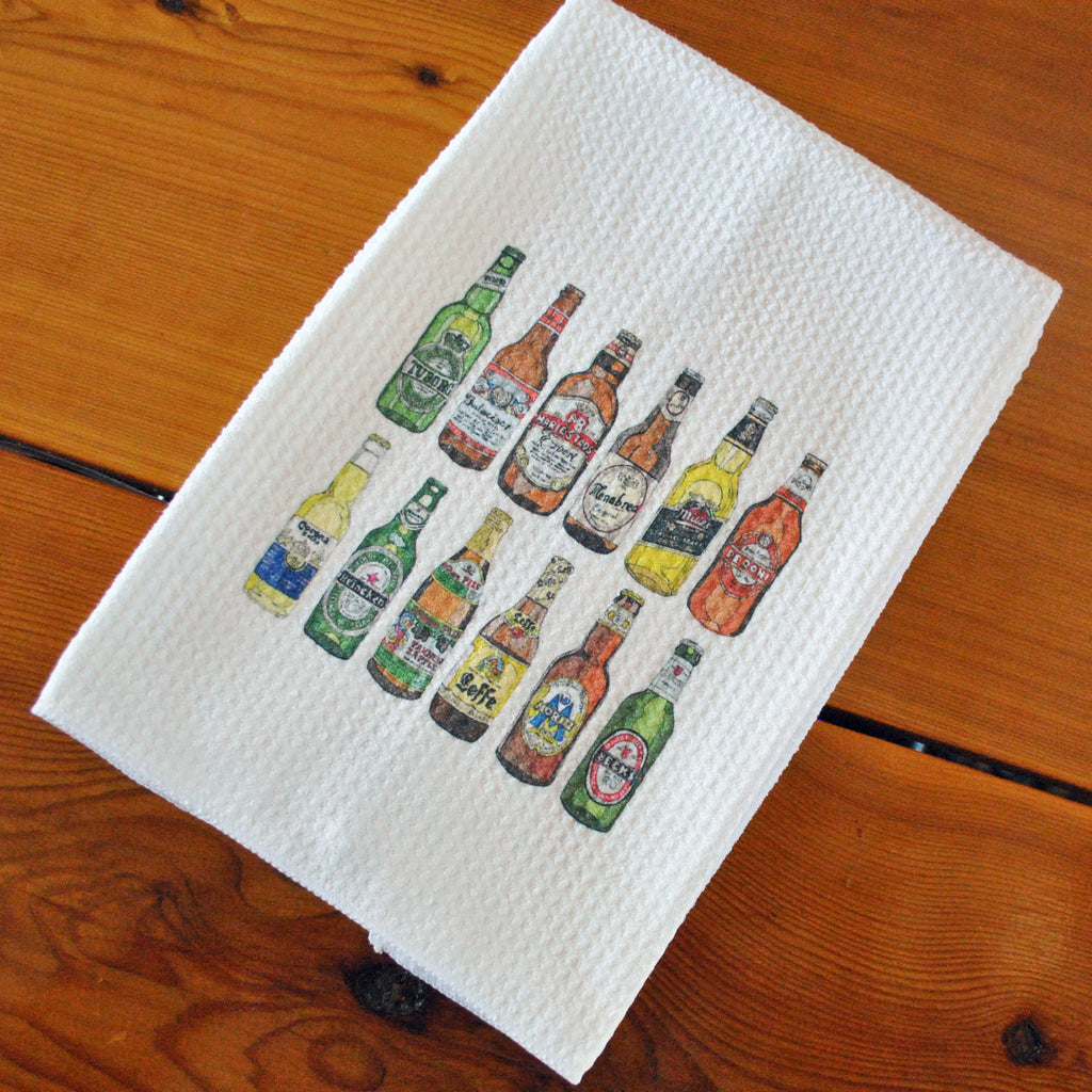 Tea Towel - Beer
