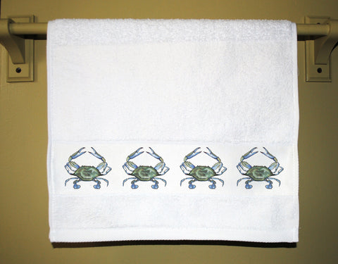 Blue Crab Guest Towel