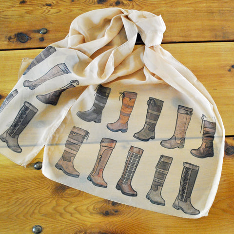 "Sporty Boots Ladies' ""Silky"" Scarf"