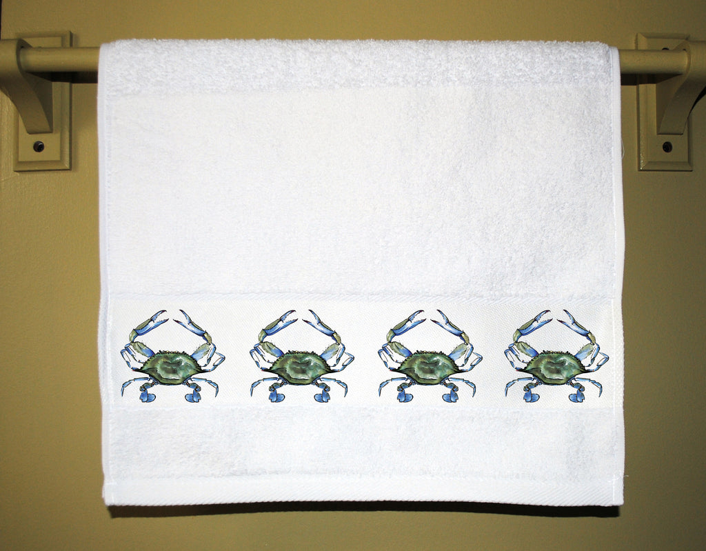 Blue Crab Towel
