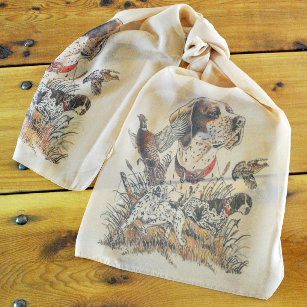 "Bird Dogs Ladies' ""Silky"" Scarf"