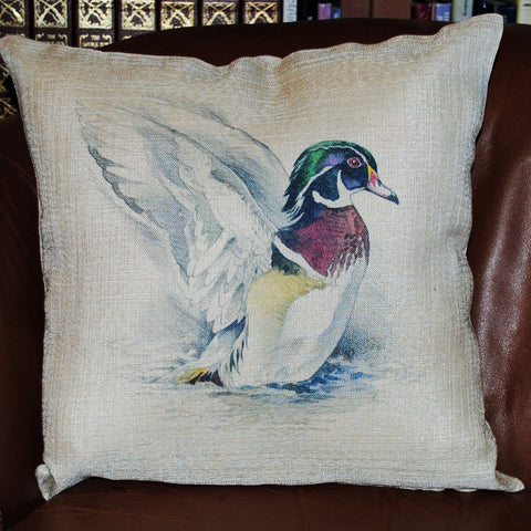 Duck Throw Pillow Cover