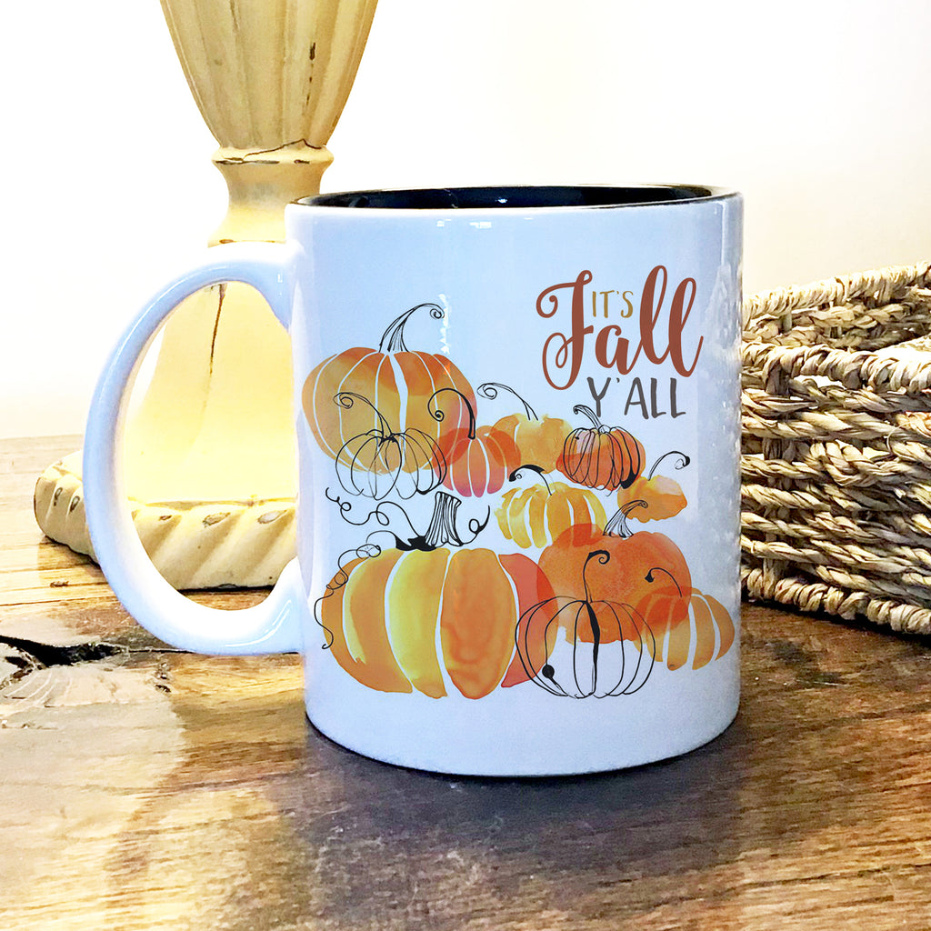 Ceramic Mug - Fall Pumpkins