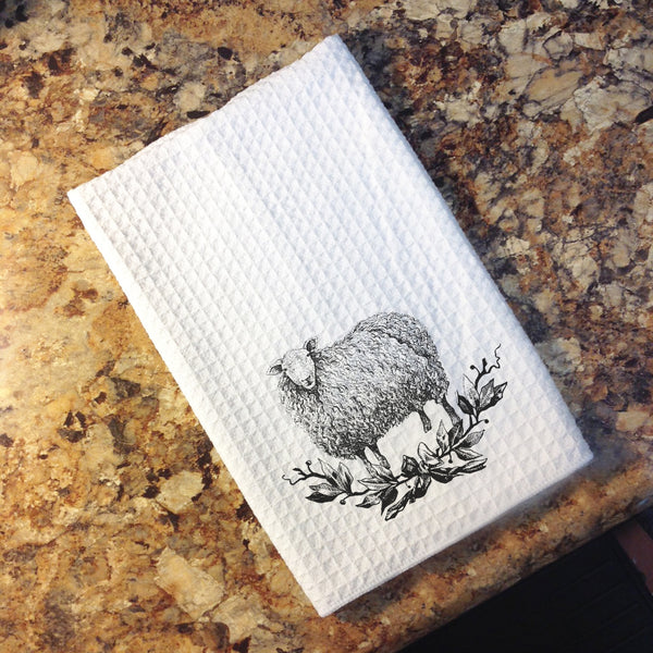 Tea Towel - Farmhouse Animals