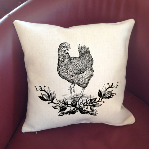 Pillow Cover - Farmhouse Animals