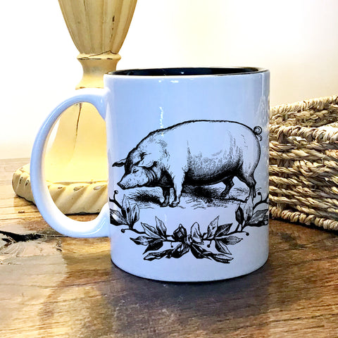 Ceramic 11 oz Mug - Farmhouse Animals