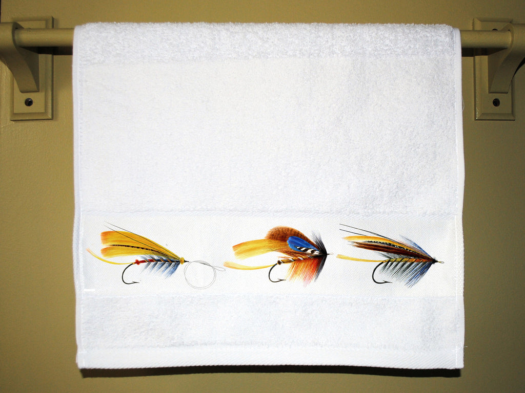 Fishing Flies Towel