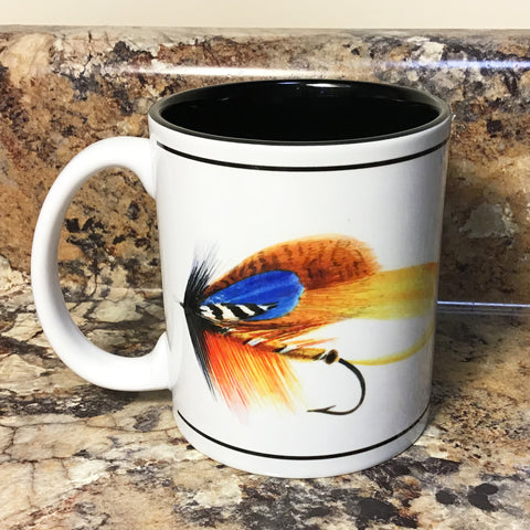 Fishing Fly Ceramic Mug