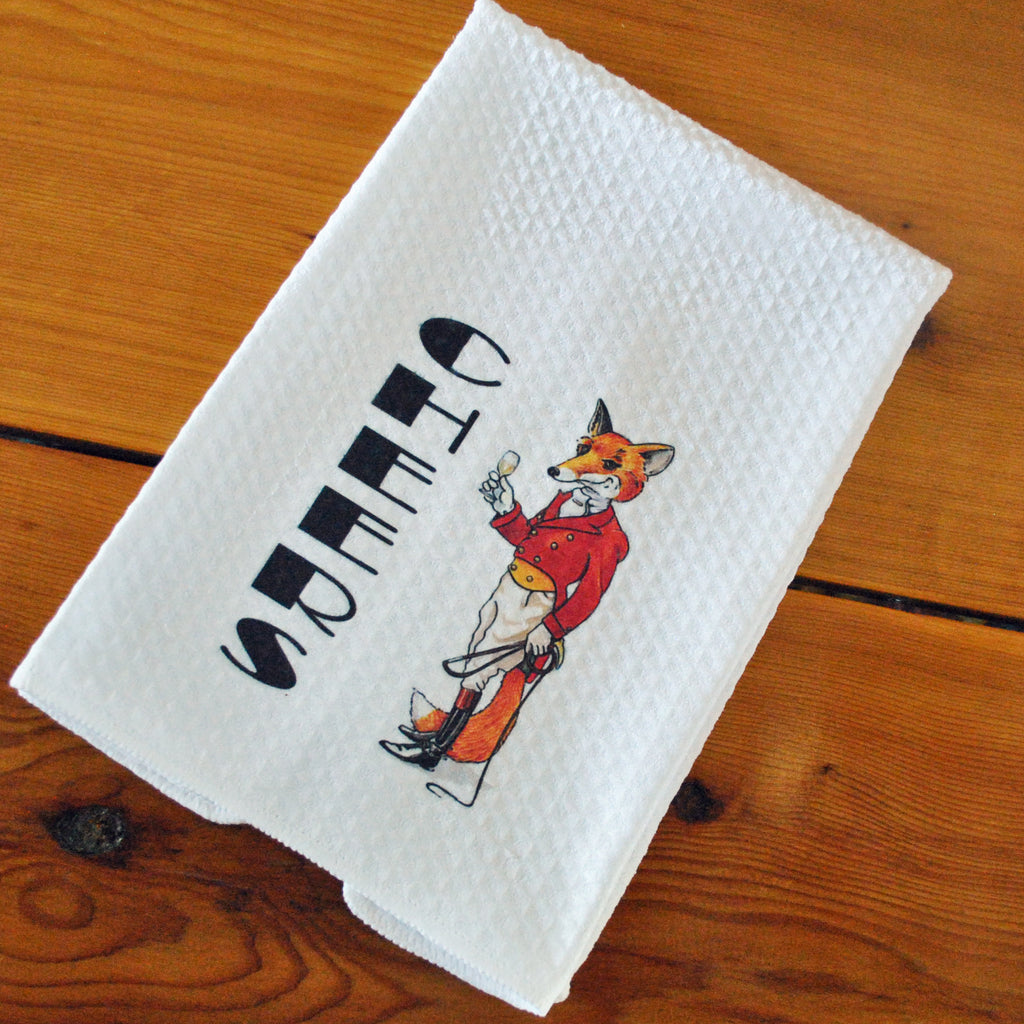 Tea Towel - Cheers, Fox Hunter