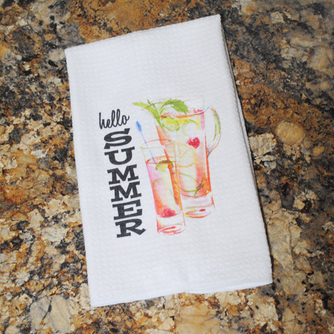 Tea Towel - Hello Summer