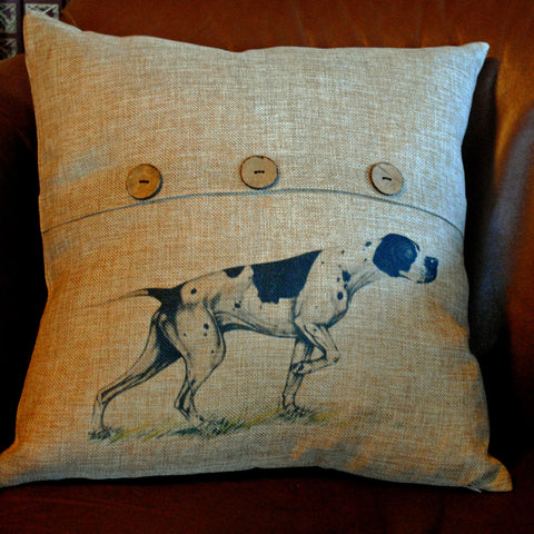 Pointer Throw Pillow Cover