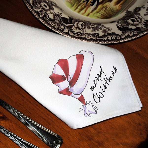 Table Linens, Set of Six - Santa's Hat