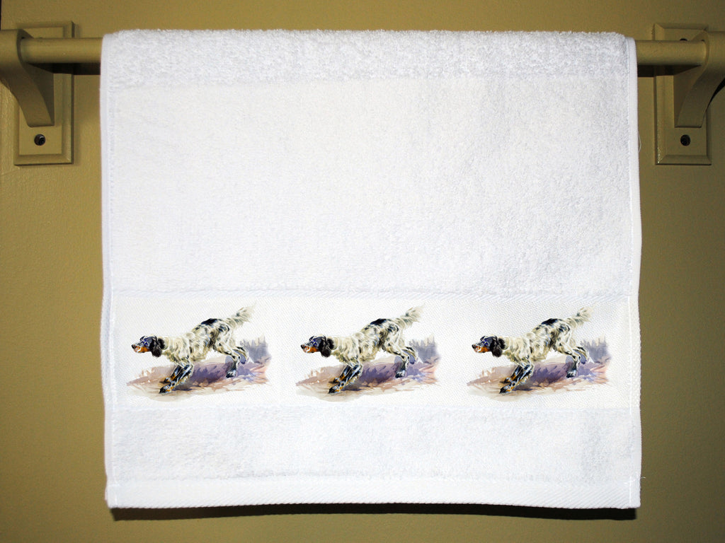 English Setter Towel