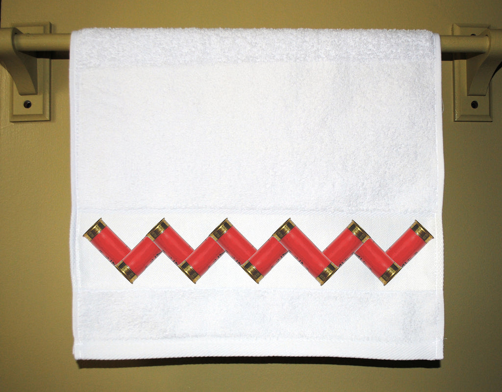 Shotgun Shell Guest Towel