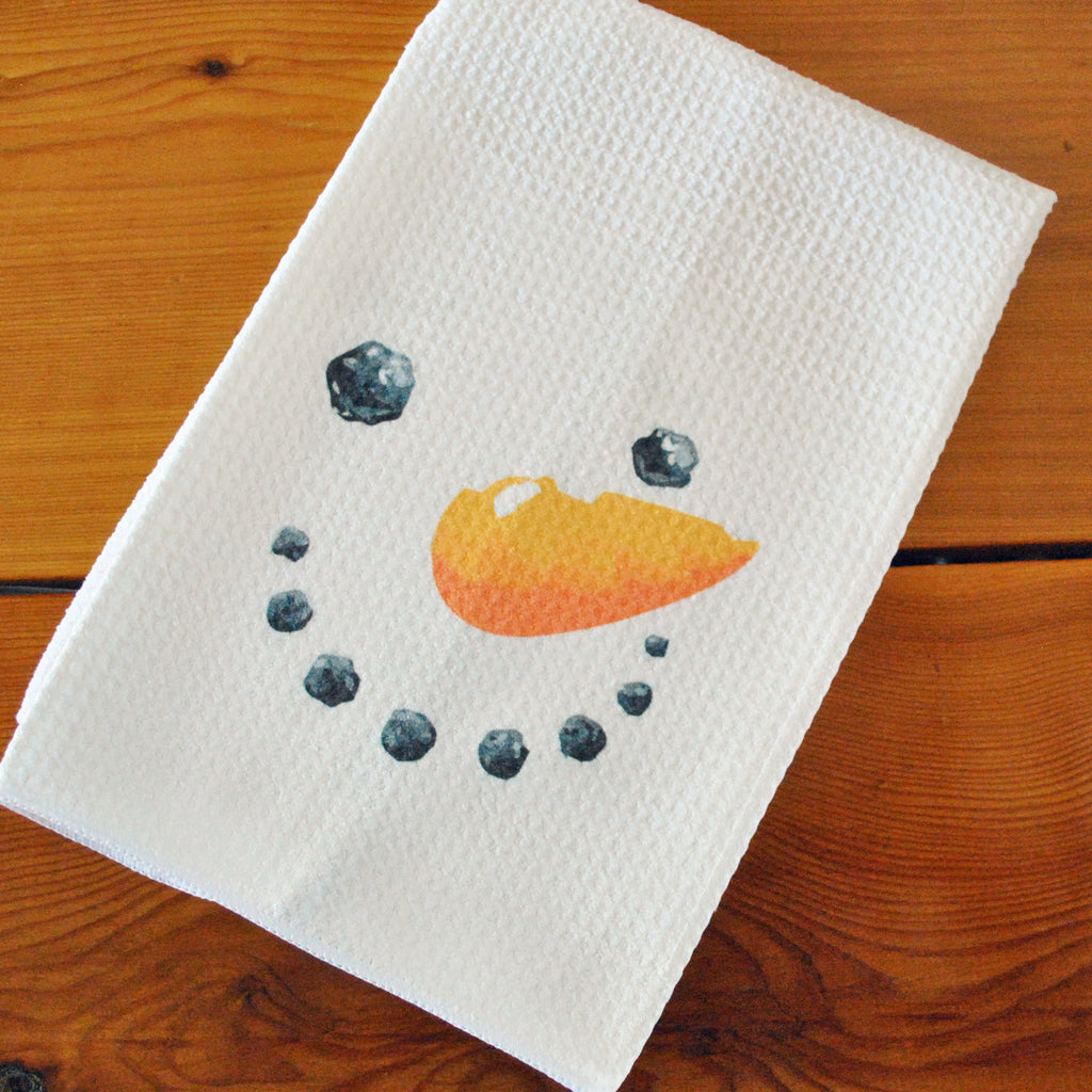 Tea Towel - Snowman