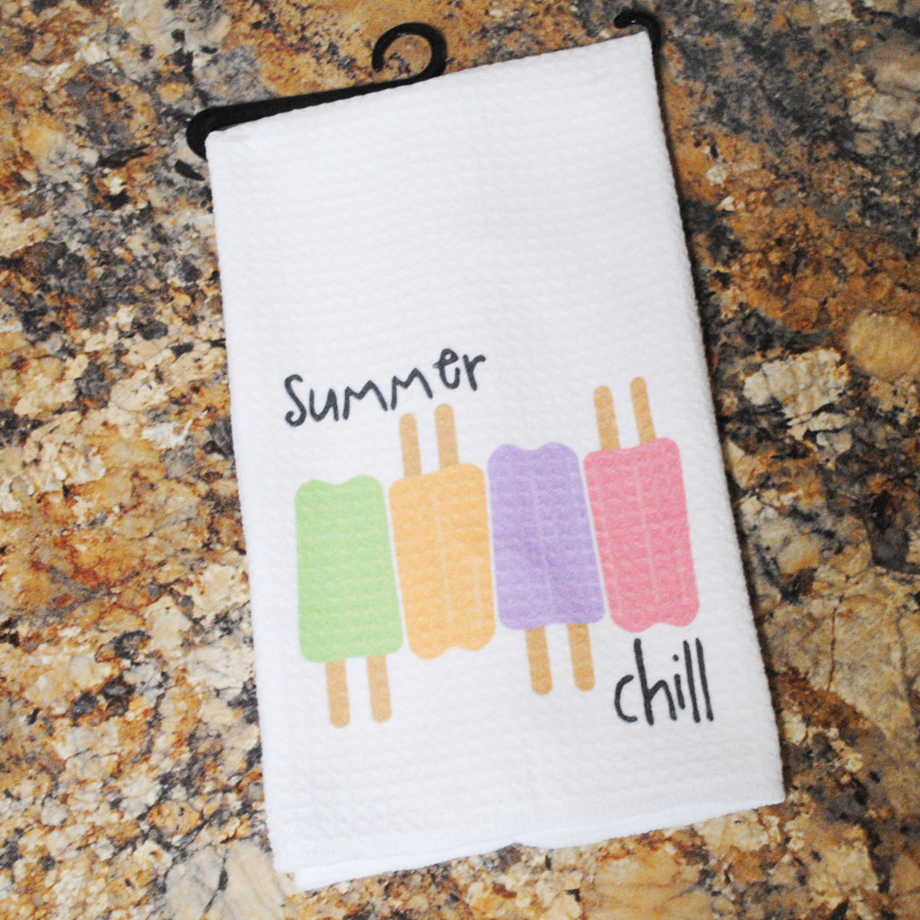 Tea Towel - Summer Chill