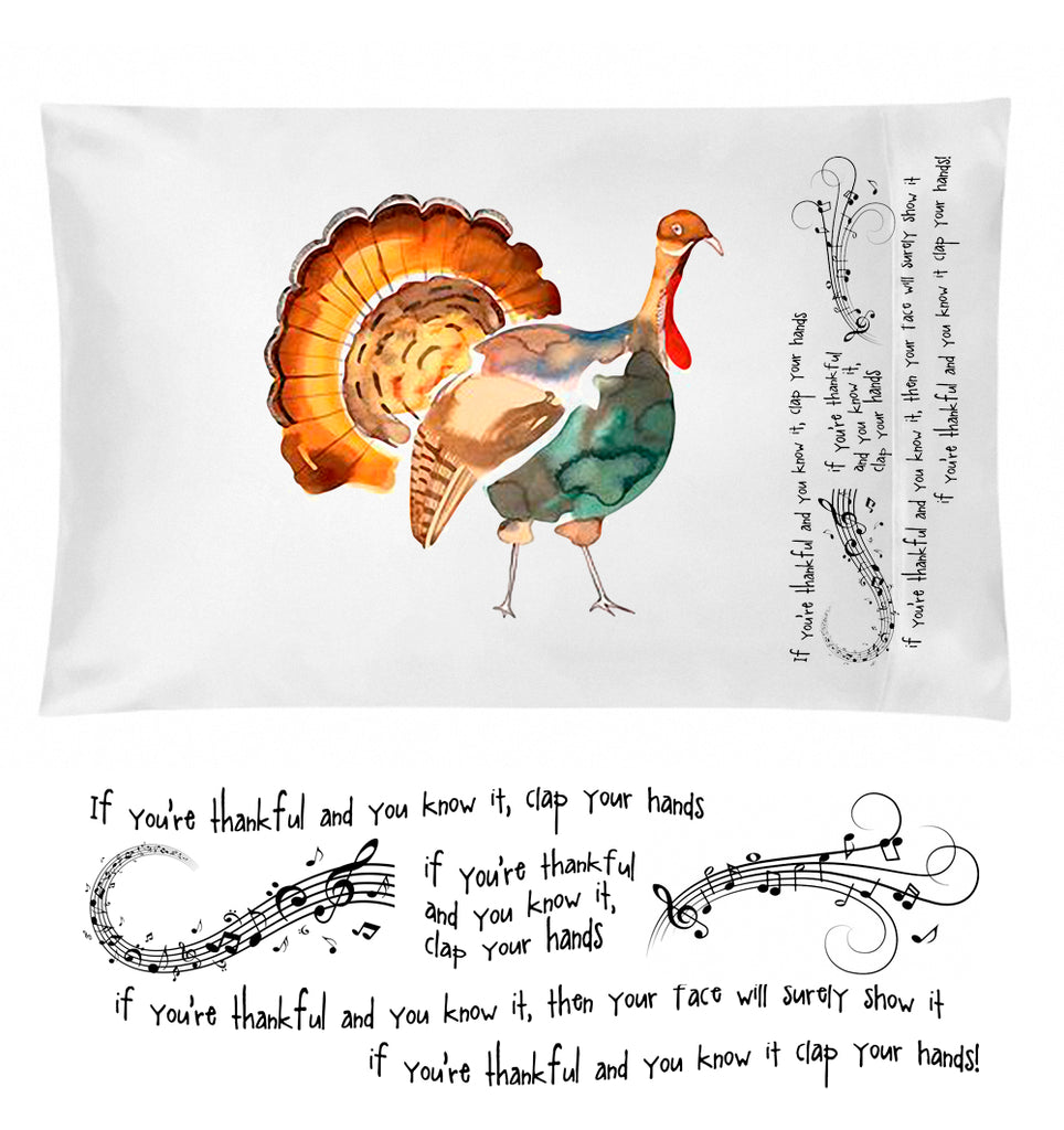 Pillowcase, Thanksgiving Turkey