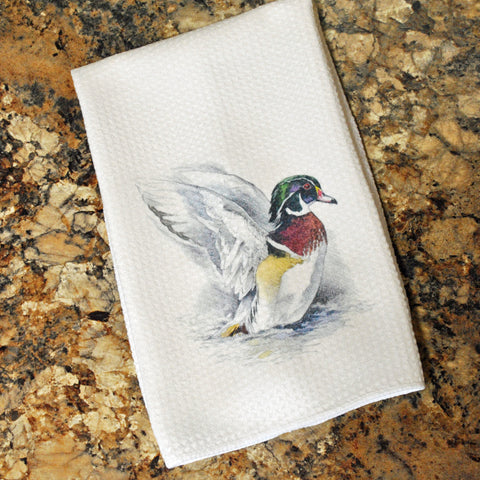 Tea Towel - Wood Duck