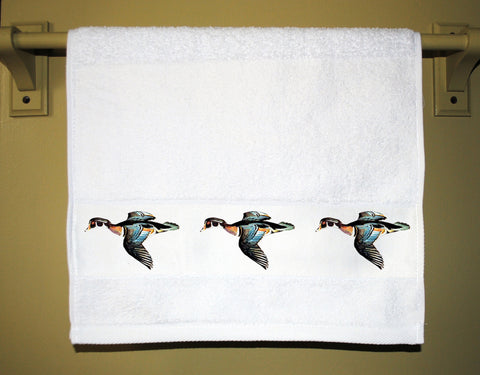 Wood Duck Towel