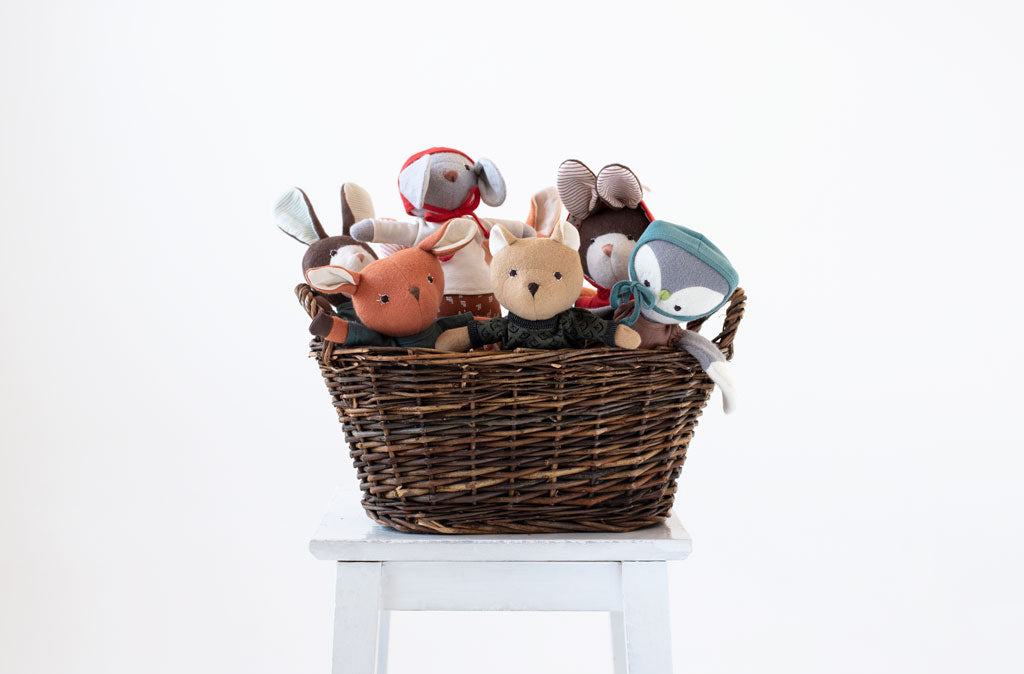 Hazel Village Animal Basket