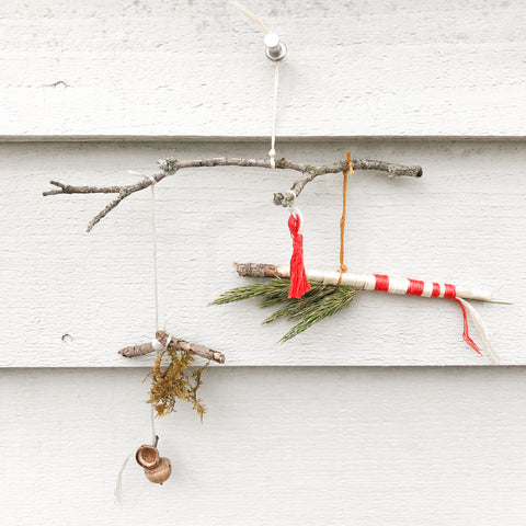 twig wall hanging