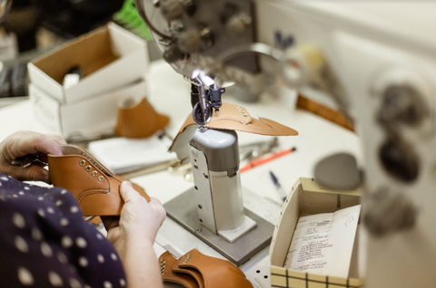 Zimmerman Shoes Sewing Room