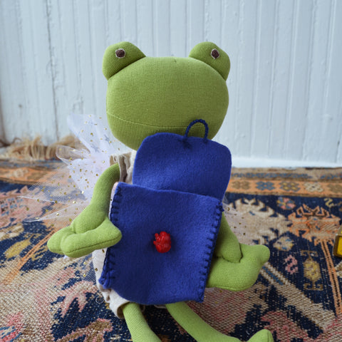 Ella Toad with doll backpack