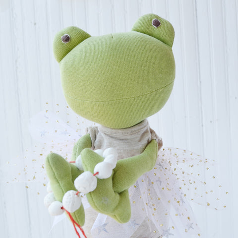 Ella Toad with clay worry beads