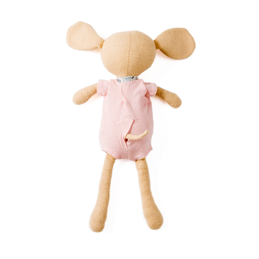 Hazel Village Handmade Organic Cotton Stuffed Animal Annicke Mouse Doll