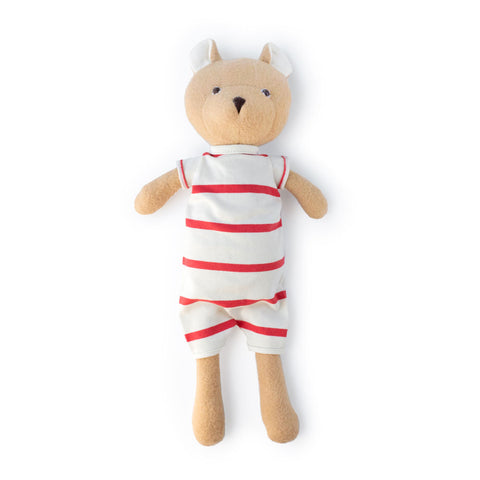 Nicholas Bear Cub in Cozy Lodge Romper