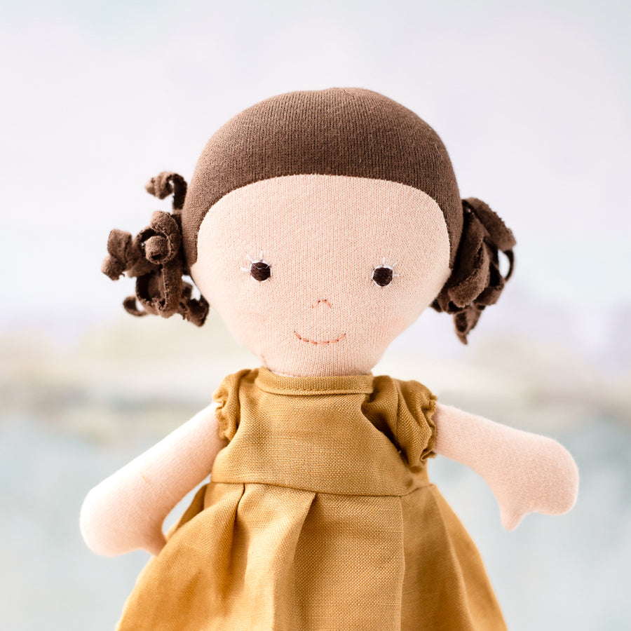 Honey Dress for Dolls
