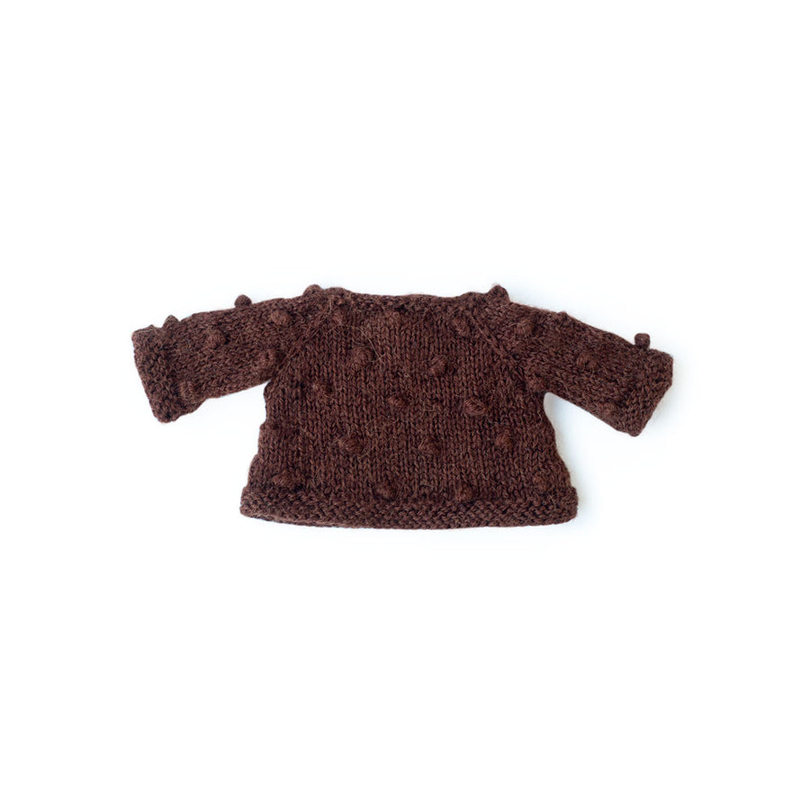 Pom-Pom Pullover Sweater for Dolls