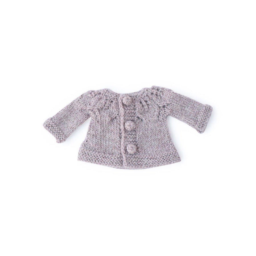 Rose Petal Cardigan for Dolls
