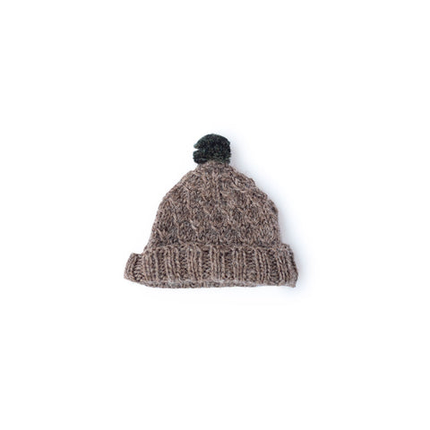 Pinecone Pom-Pom Hat for Dolls