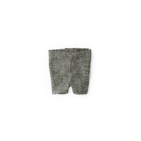 Gray Linen Shorts for Dolls